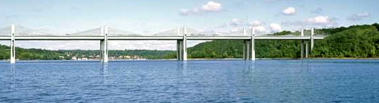 St. Croix RIver Bridge span